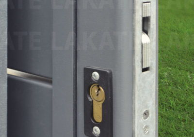 Entrance gate lock