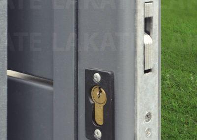 Entrance gate lock
