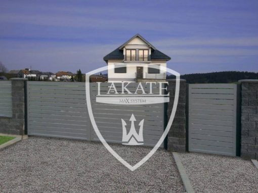 Aluminum fence provides privacy of your property and secure it against unwanted intrusions